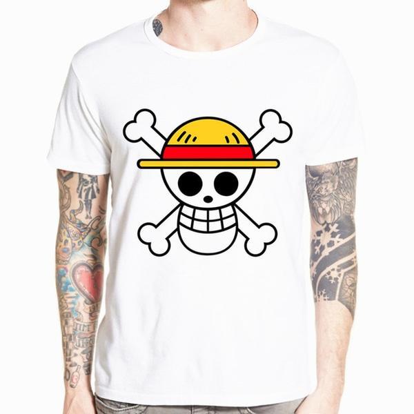 Boutique One Piece T-shirt xs T-Shirt One Piece Logo Chapeau de Paille