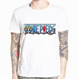 Boutique One Piece T-shirt xs T-Shirt One Piece Logo du Manga
