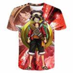 Boutique One Piece T-shirt XXL T Shirt One Piece Luffy Au Colisée