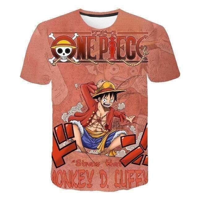 Boutique One Piece T-shirt XXS T-Shirt One Piece Luffy Capitaine du Sunny