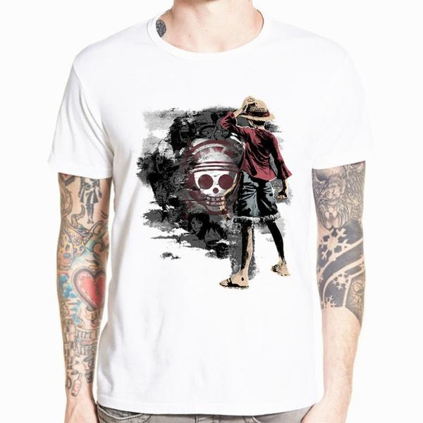Boutique One Piece T-shirt xs T-Shirt One Piece Luffy Dessin