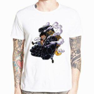 Boutique One Piece T-shirt xs T-Shirt One Piece Luffy Gear 4