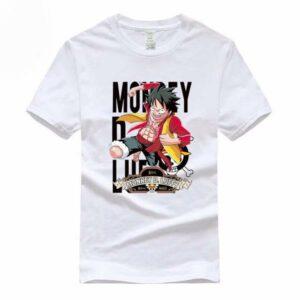Boutique One Piece T-shirt S T-Shirt One Piece Luffy Roi Des Pirates
