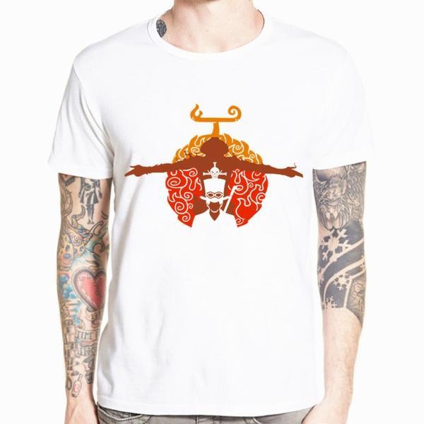 Boutique One Piece T-shirt xs T-Shirt One Piece Mera Mera No Mi