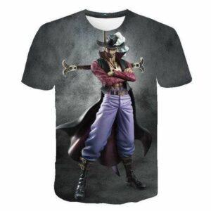 Boutique One Piece T-shirt XXS T-Shirt One Piece Mihawk le Maitre de Zoro