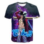 Boutique One Piece T-shirt XXS T-Shirt One Piece Mihawk le plus Grand Epéiste