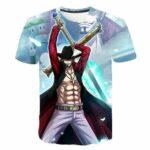 Boutique One Piece T-shirt XXS T-Shirt One Piece Mihawk Oeil de Faucon