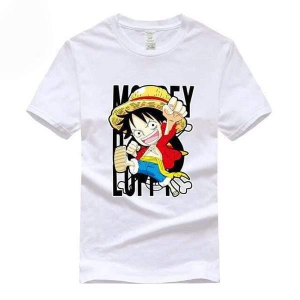 Boutique One Piece T-shirt S T-Shirt One Piece Mini Monkey D. Luffy