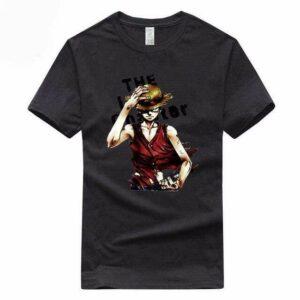 Boutique One Piece T-shirt Noir / S T Shirt One Piece Monkey D Luffy Le Chapeau De Paille
