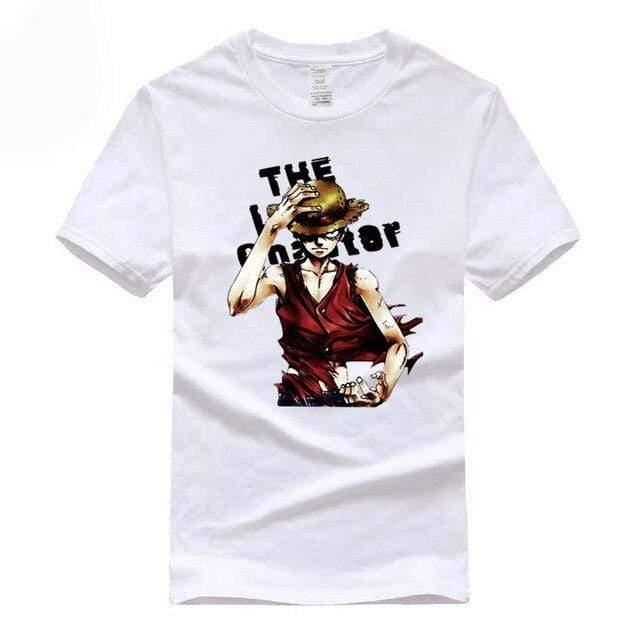 Boutique One Piece T-shirt Blanc / S T Shirt One Piece Monkey D Luffy Le Chapeau De Paille