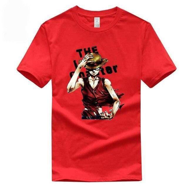 Boutique One Piece T-shirt Rouge / S T Shirt One Piece Monkey D Luffy Le Chapeau De Paille