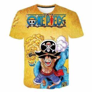 Boutique One Piece T-shirt XXS T-Shirt One Piece Monkey D Luffy le Chapeau de Paille