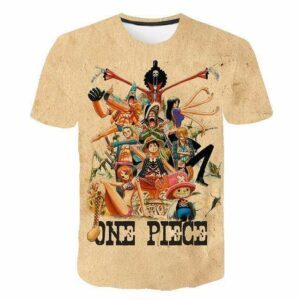 Boutique One Piece T-shirt M T-shirt One Piece Rétro Mugiwara