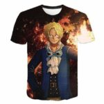Boutique One Piece T-shirt 4XL T-Shirt One Piece Sabo Le Révolutionnaire