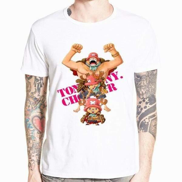 Boutique One Piece T-shirt xs T-Shirt One Piece Transformation Chopper