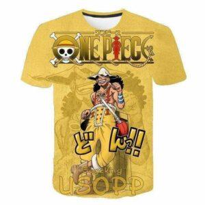 Boutique One Piece T-shirt XXS T-Shirt One Piece Ussop du Nouveau Monde