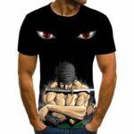 Boutique One Piece T-shirt 6XL T-shirt One Piece Zoro Demon Slash