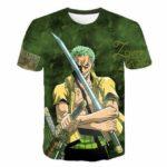 Boutique One Piece T-shirt S T-shirt One Piece Zoro Le Bretteur