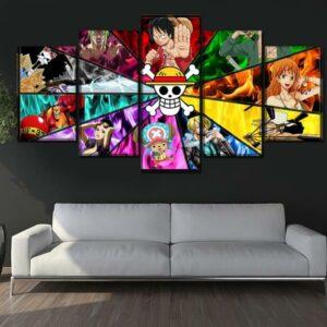 Boutique One Piece Tableau Petit / Sans Cadre Tableau One Piece Art