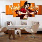 Boutique One Piece Tableau Petit / Sans Cadre Tableau One Piece Monkey D. Luffy