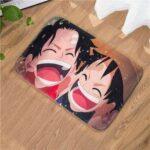 Boutique One Piece Tapis De Douche 50x80cm Tapis De Douche One Piece Luffy Et Ace