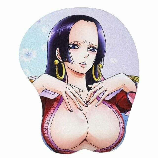 Boutique One Piece Tapis De Souris Tapis De Souris 3D One Piece Boa Hancock