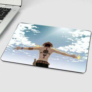 Boutique One Piece Tapis De Souris 22X18 cm Tapis De Souris One Piece Portgas D Ace