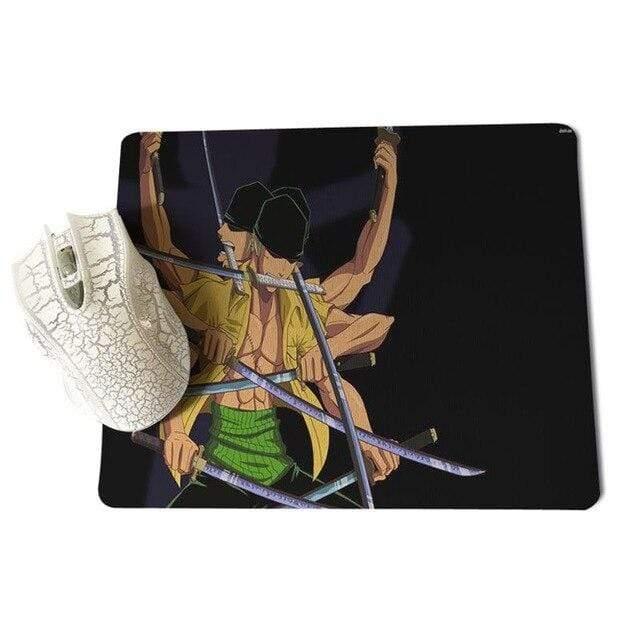 Boutique One Piece Tapis De Souris 18x22cm Tapis De Souris Zoro Ashura