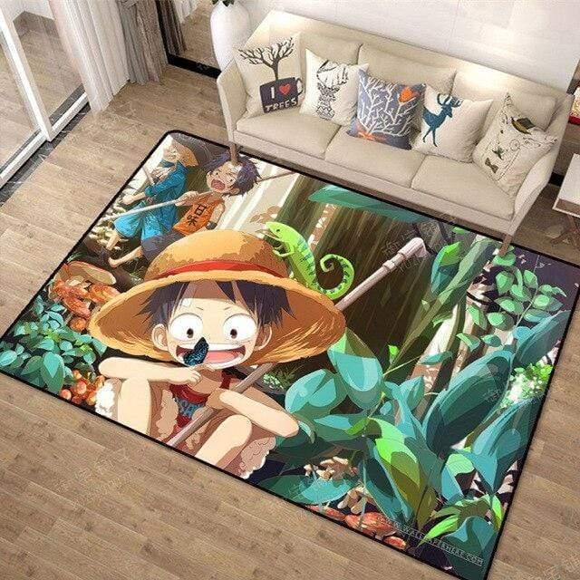 Boutique One Piece Tapis 80x120cm Tapis One Piece L'Enfance Des 3 Frères