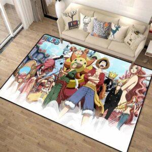 Boutique One Piece Tapis 80x120cm Tapis One Piece L'ile Des Hommes Poissons