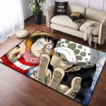 Boutique One Piece Tapis 100x160cm Tapis One Piece  Luffy Et Law