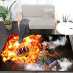 Boutique One Piece Tapis 100x160cm Tapis One Piece Luffy Gomu Gomu No