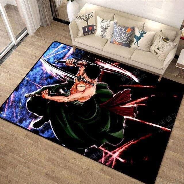 Boutique One Piece Tapis 100x160cm Tapis One Piece Roronoa Zoro