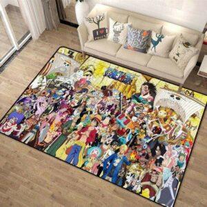 Boutique One Piece Tapis 100x160cm Tapis One Piece Tout Les Personnages