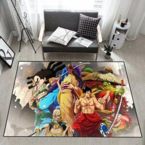 Boutique One Piece Tapis 50x80cm Tapis One Piece Wano Kuni