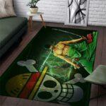 Boutique One Piece Tapis 122x183 cm Tapis One Piece Zoro Le Sabreur Des Mugiwara