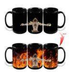 Boutique One Piece Mug Tasse Magique One Piece Ace Et Ses Flammes