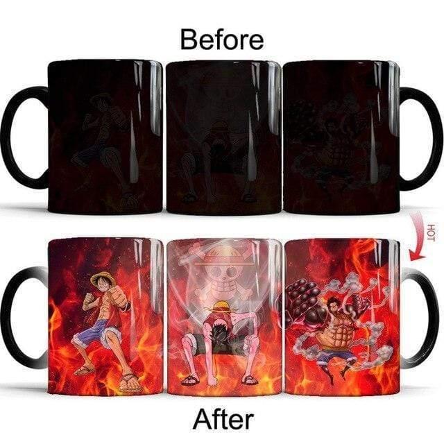 Boutique One Piece Mug Tasse Magique One Piece Luffy, LUffy Gear Second, Luffy Gear Fourth