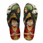 Boutique One Piece Tongs 35 Tongs One Piece Zoro et Luffy
