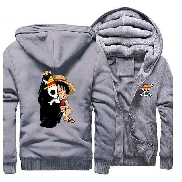 Boutique One Piece Veste Gris / XL Veste One Piece Luffy Enfant