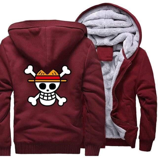 Boutique One Piece Veste Rouge / 5XL Veste One Piece Pavillon des Chapeaux de Paille