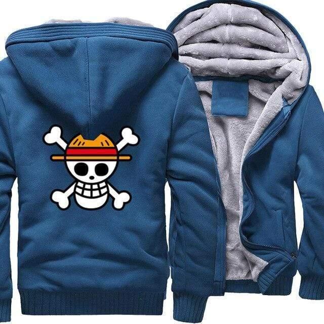 Boutique One Piece Veste Bleu / 5XL Veste One Piece Pavillon des Chapeaux de Paille