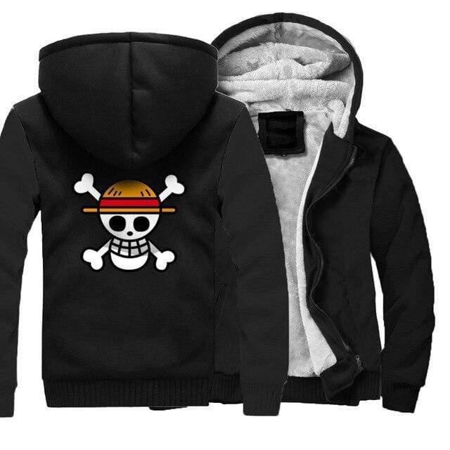 Boutique One Piece Veste Noire / 5XL Veste One Piece Pavillon des Chapeaux de Paille